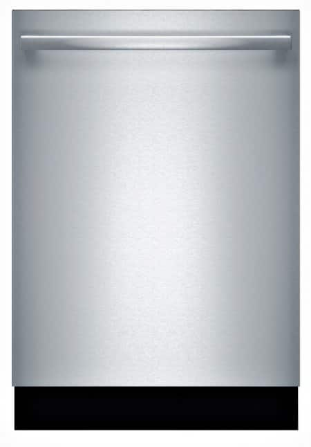 Bosch SHX68T55UC stainless steel dishwasher face