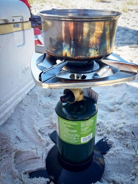 camp stove for camping meals