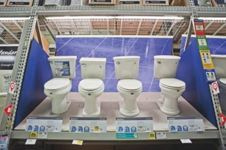 Selecting a toilet may seem simple, but there are a number of options. Consult with a highly rated plumber to find what best fits your family. (Photo by Brandon Smith)