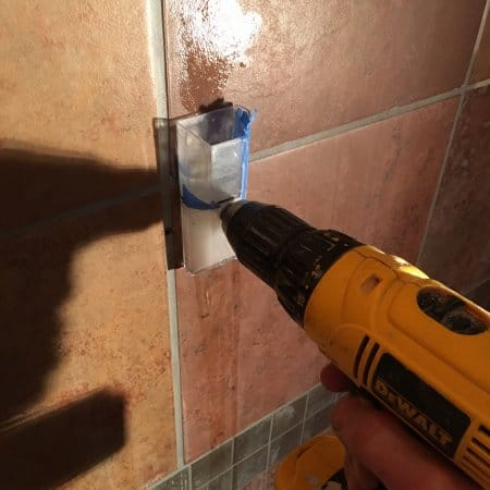 drilling into tiles bathroom how to drill holes in porcelain bathroom tile angie s list 18214