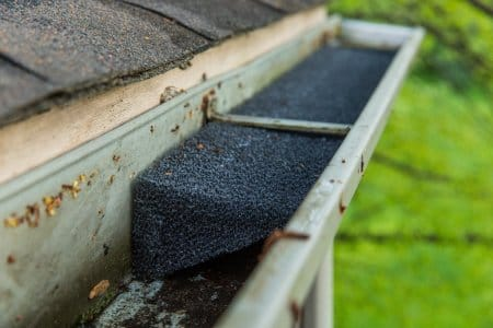 Pros and cons of diy gutter guards angies list foam gutter guard solutioingenieria Gallery