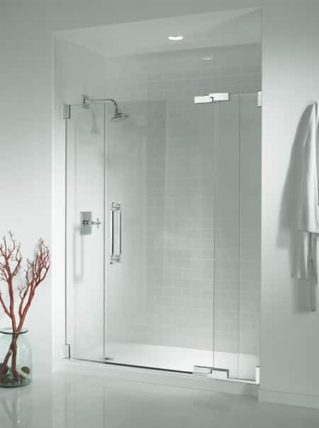 kohier frameless shower door