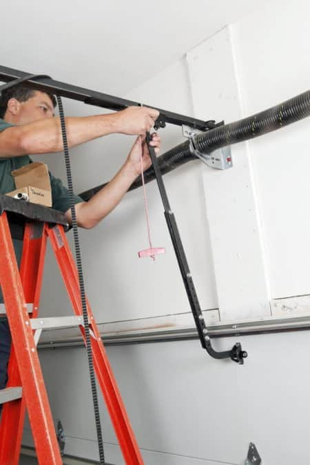 The Average Cost To Repair A Garage Door Spring Is $200. (Photo By IStock