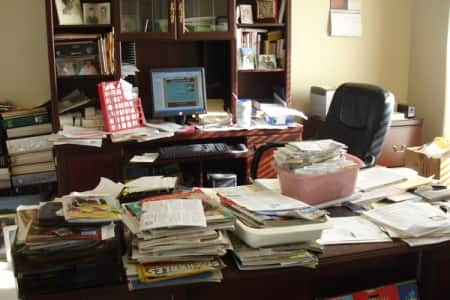 There are many different ways to set up and maintain a filing system. The important thing is to be consistent. (Photo courtesy of Simplified Living Solutions)