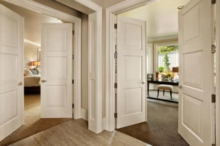 When you're planning to remodel, it's important to include interior doors in the budget. (Photo by Interior Door & Closet)