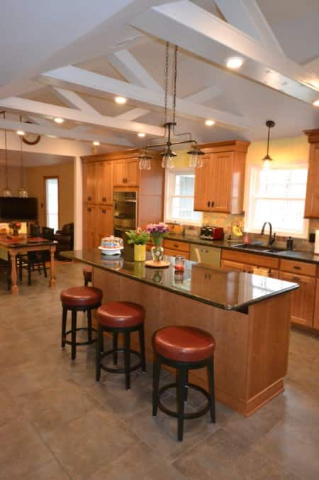 Porcelain kitchen tile floor & The Best Tiles for a Kitchen Floor | Angie\u0027s List