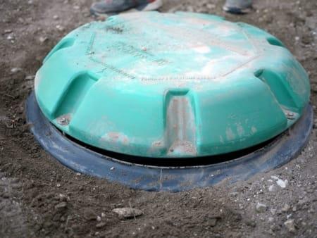 septic tank lid