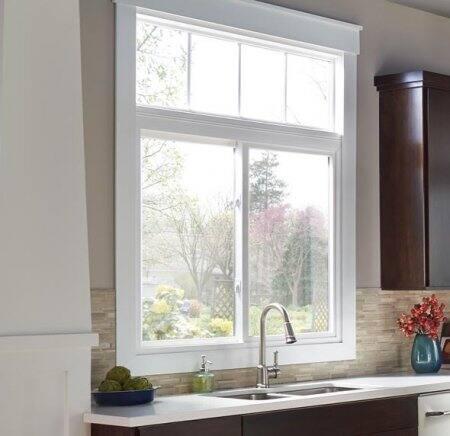 sliding window in kitchen