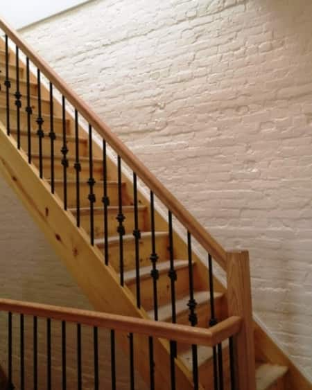 These Stairs Were Part Of A Gut Renovation Of A Six Family Apartment  Building.
