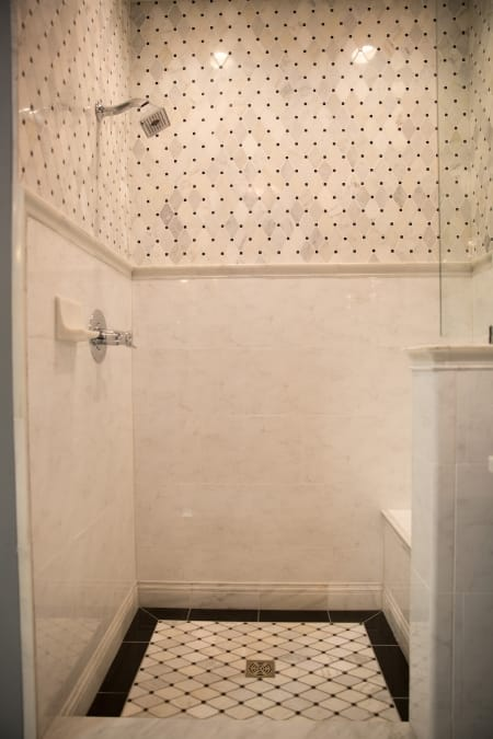 Hire a tile contractor for your bathroom remodel angie 39 s for Bathroom floor contractors
