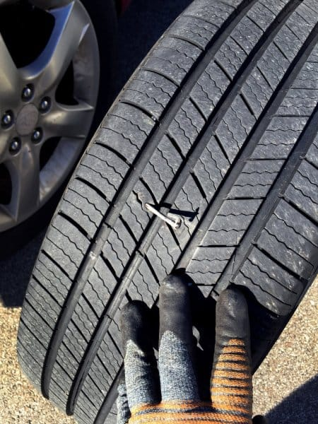 Tire nail