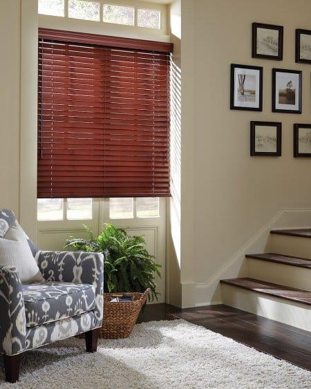 Hunter Douglas Parkland wood blinds