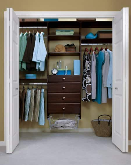 Reach In Closet By Easy Track