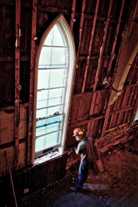 Church deconstruction in Vermont by Deconstruction Works