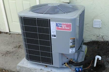 If you have an older air conditioning unit that has not been properly maintained, invest in a new model, says Bruno. (Photo courtesy of Angie's List member Richard D. of Orlando, Fla.)