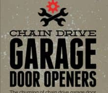 Basics of Chain Drive Garage Door Openers