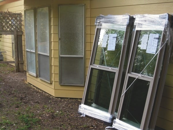 Upfront costs pay off down the road with new, energy efficient windows. (Photo courtesy of Jon Ellzey)