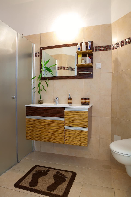 A Modern Bathroom.