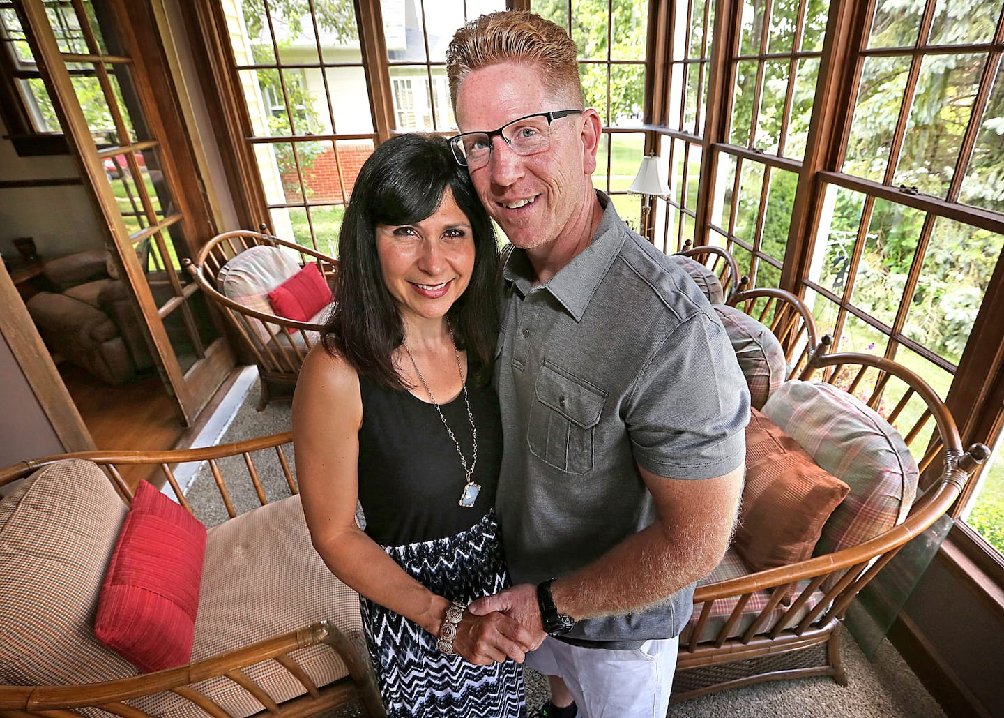 Life long Beech Grove residence, Christa and Phil Smiley have lived in their current home for the past three years. The classic two story home was built in 1910.