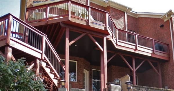 Tremblay says the deck makes this a pleasant, usable space. (Photo courtesy of Angie's List member Tom Tremblay of Tega Cay, South Carolina)
