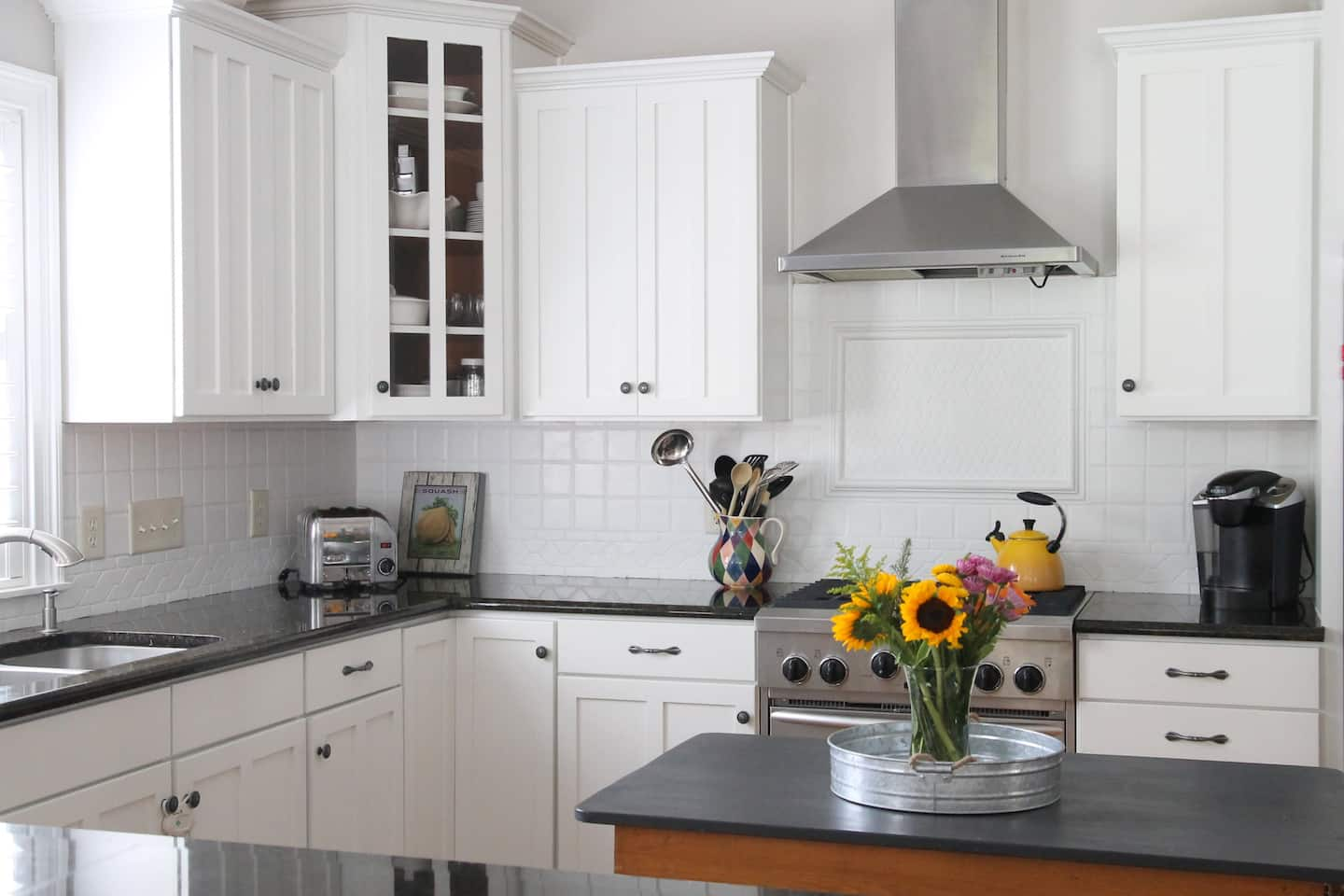 Painting Kitchen Cabinets: Before and After   Angie\'s List
