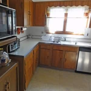 kitchen remodel before wood paneling  photo by   kitchen updates  from 1970s to now   angie u0027s list  rh   angieslist com