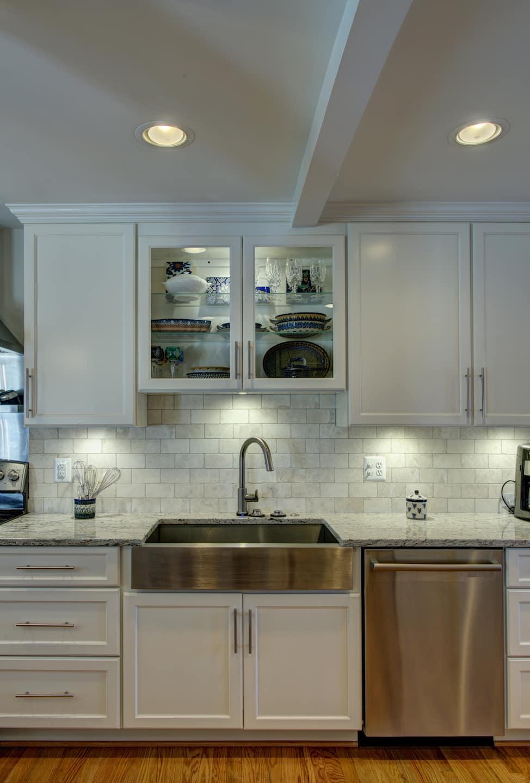 Under cabinet task lighting Led Strip Undercabinet Lighting Home Guides Sfgate Undercabinet Lighting Angies List