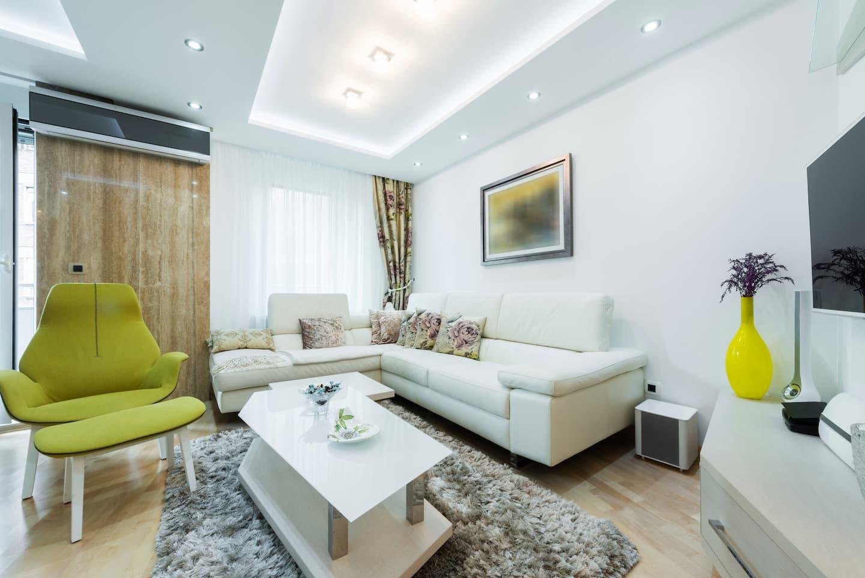 Living Room Lighting Ideas | Angie\'s List