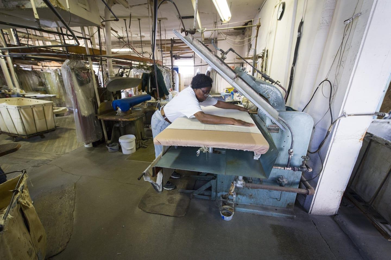 Alice Nelson at steam press