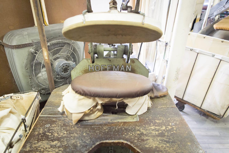 A mushroom press