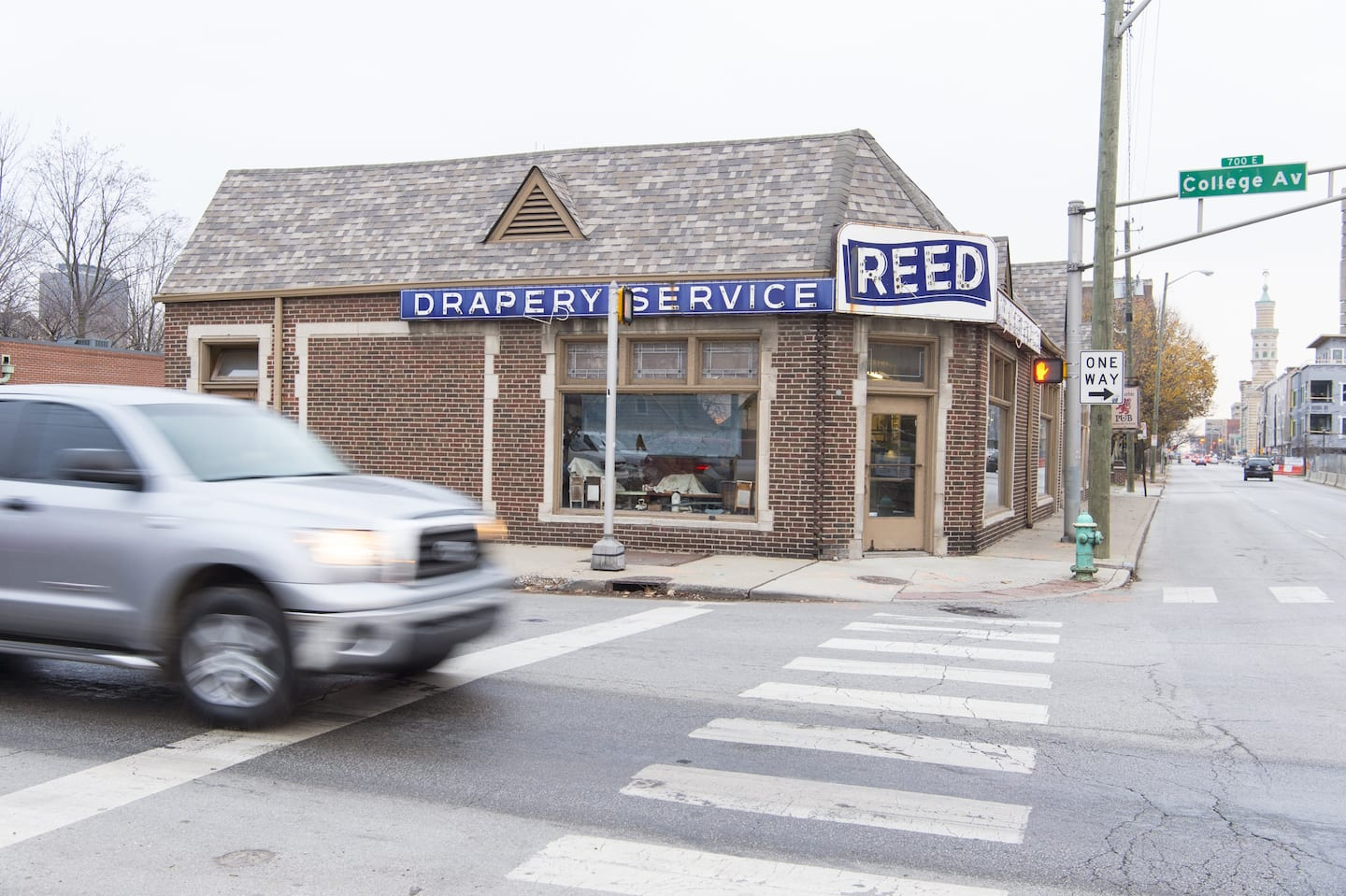 Street view of Reed Drapery Service