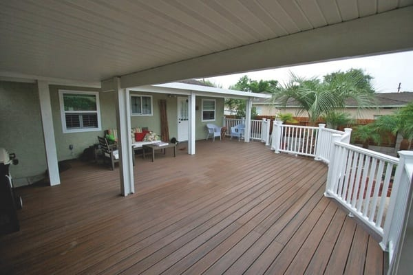 Best-Rate Repair removed and replaced a 630-square-foot deck at Davis' home in Lemon Grove. (Photo courtesy of James Davis)