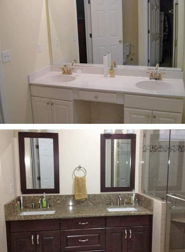 Roswell Homeowner Raves About Bathroom Remodel