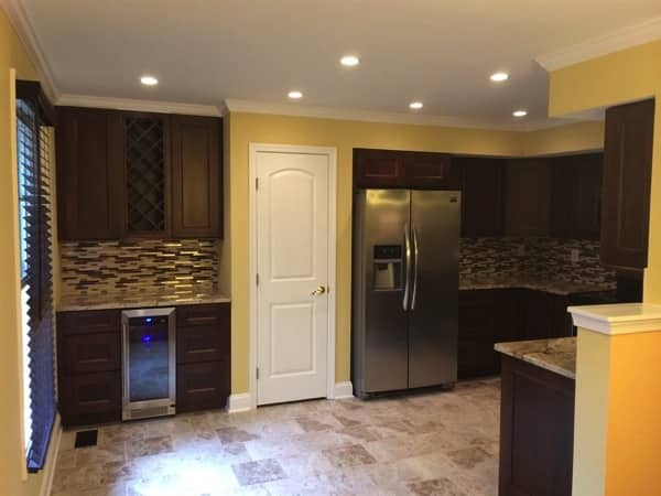 The homeowner had the kitchen remodel completed before they moved into the home. (Photo courtesy of Angie's List member Robert Waters of Columbia, Md.)