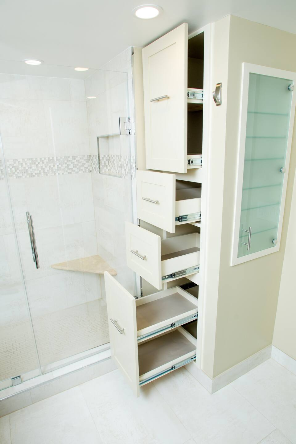 12 Sensational Bathroom Cabinet Design Ideas