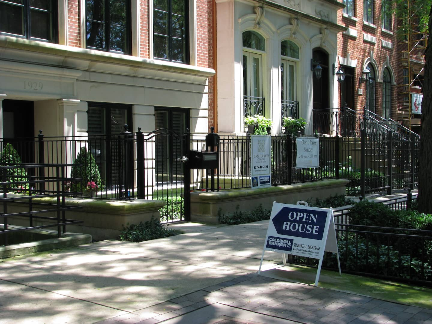 The Chicago real estate market continues to improve with the number of foreclosure filings down almost 40 percent from the first half of 2013. (Photo by Steven Jack)