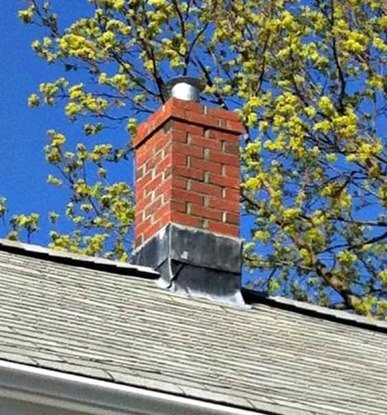 Keep the fire roaring all winter by having your chimney inspected in early fall. (Photo courtesy of member Cathleen F.)