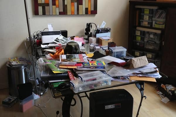 No matter how neat you think it is, take away one third of your stuff and pack it away in the garage before showing your home, says Player. (Photo courtesy of Angie's LIst member Chandra T. of Los Angeles)