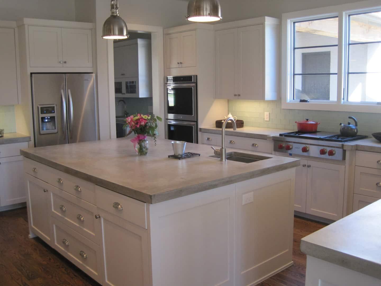 Concrete Kitchen Countertops | Angie's List