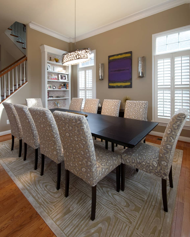 Contemporary Glam Dining Room, Best Interior Design, SPP, Angieu0027s List  Contest Entry 2015