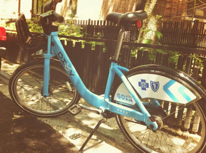 Chicago Divvy bikes (Photo by Steven Jack)