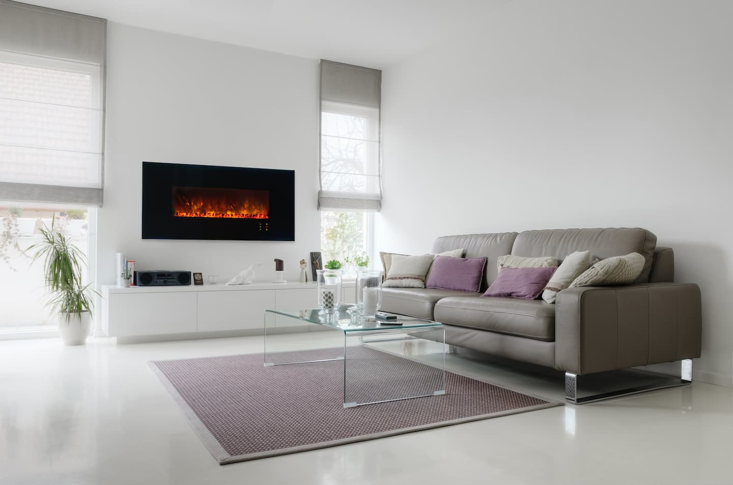 Modern Electric Fireplaces Angie S List