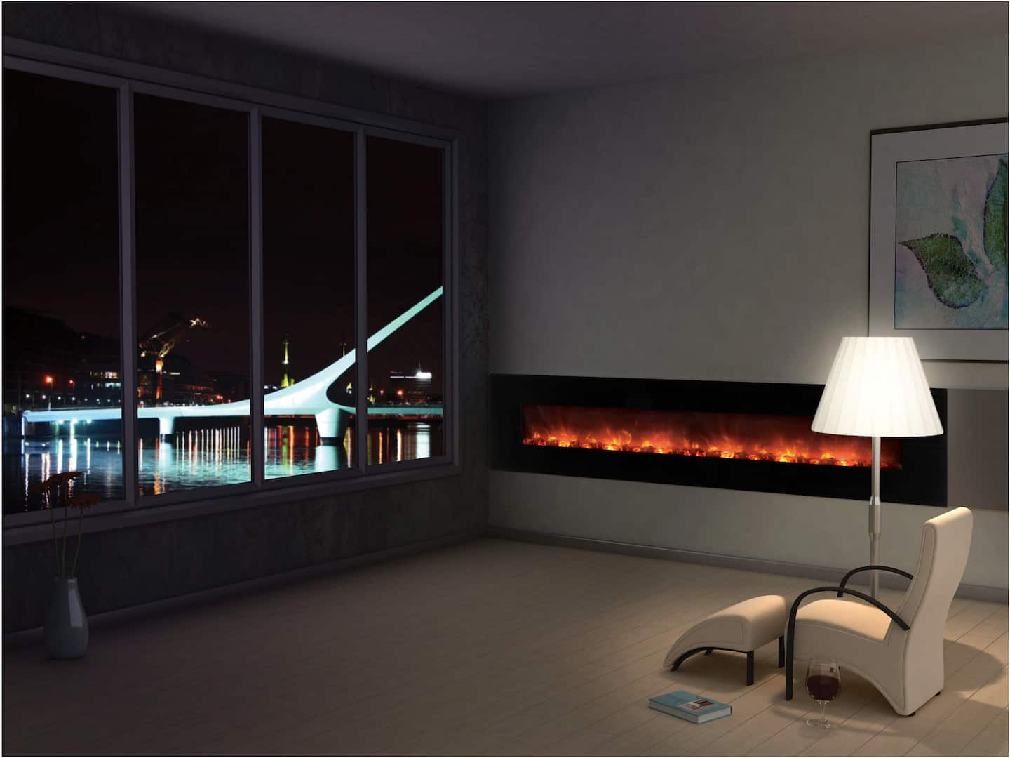 modern electric fireplaces angie u0027s list