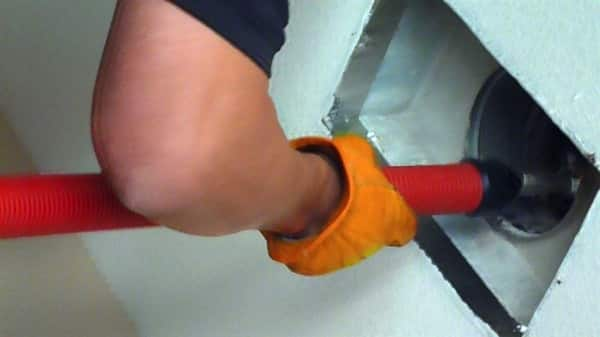 Pros say dust isn't the only thing they find when cleaning air ducts. (Photo by Murry S., of Roseville, Ca.)