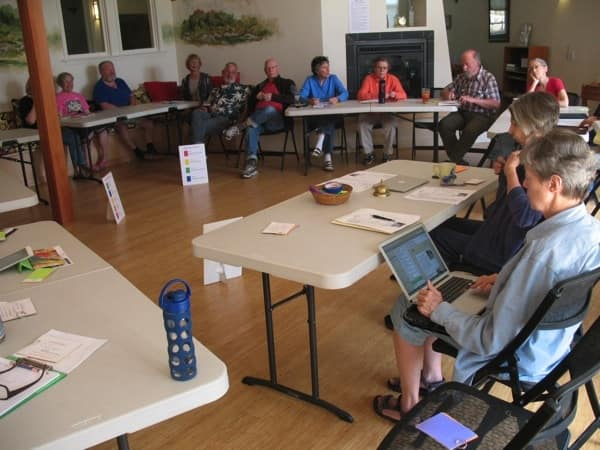 cohousing community meeting (Photo by )