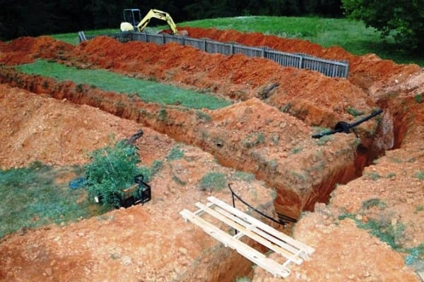 After contractors installed this geothermal system, this member reported that her electric bills had been cut in half. (Photo courtesy of Angie's List member Joanne B. of Goochland, Va.)