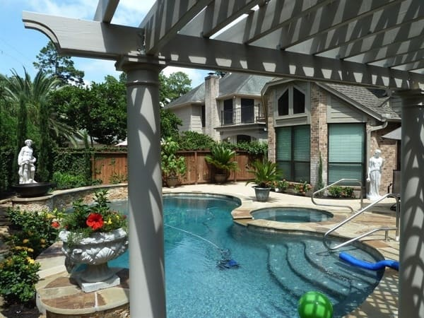 The design for the pool was done on a computer and the homeowner changed the plans as needed. (Photo courtesy of Angie's List member Tom C. of Houston)