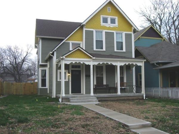 Julie Landrum's home after completion of a restoration project. (Photos courtesy of Julie Landrum)