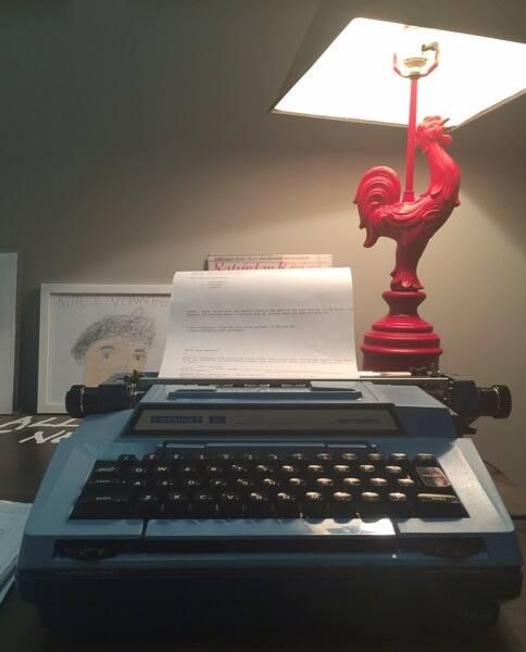 typewriter (Photo by )