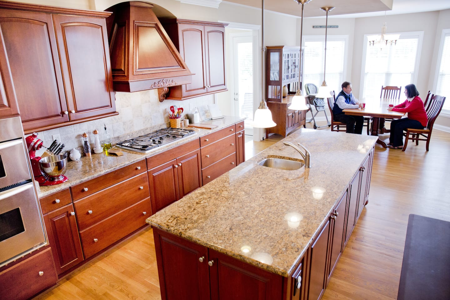 Updated kitchen helps sell home more quickly (Photo by )